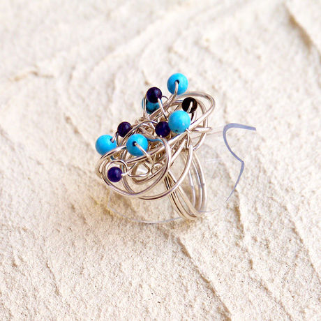Silver Wire Ring WR-002