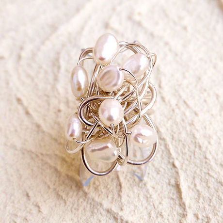 Silver Wire Ring WR-007