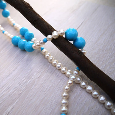 Fresh Water Pearl Necklace N-004