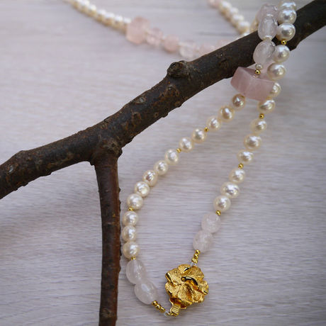 Fresh Water Pearl Necklace N-003