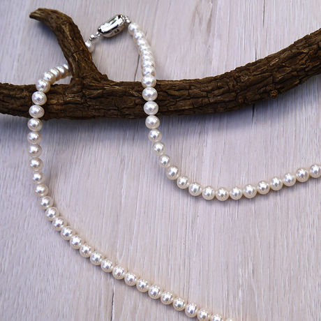 Fresh Water Pearl Necklace N-001