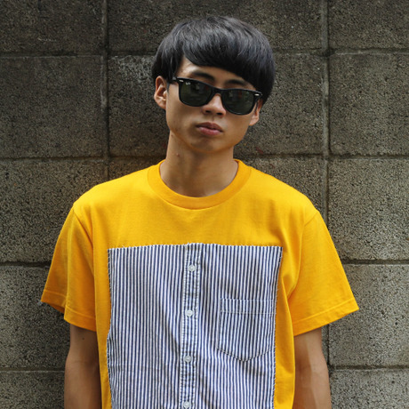 Pokke -Shirts- Yellow/Stripe
