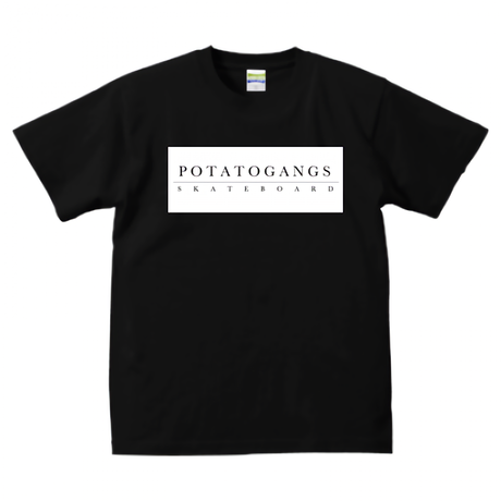 POTATOGANGS SKATE BOARD BOX LOGO T-shirt