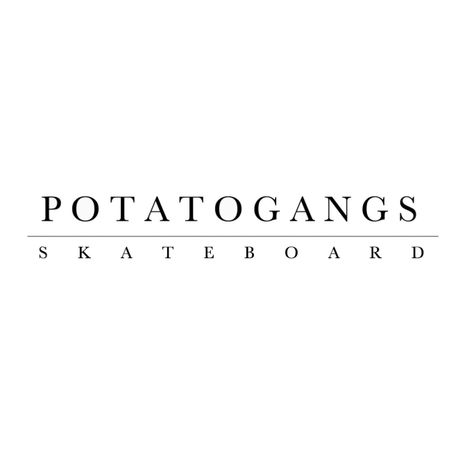 POTATOGANGS SKATE BOARD T-shirt