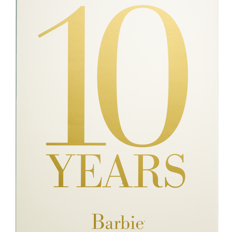 10 Years Barbie® Fashion Model Collection Book