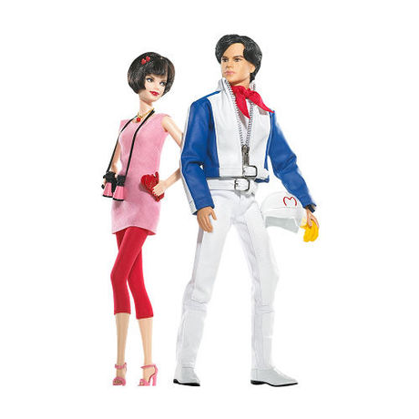 Speed Racer Barbie® Doll and Ken® Doll Giftset