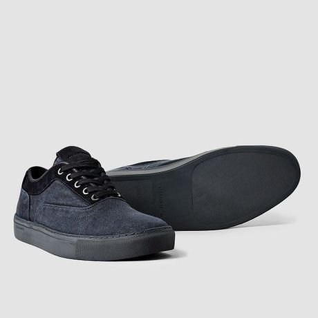 ALLSAINTS CANVAS PIECE DYED LOW SNEAKER  (オールセインツ キャンバス 後染め ローカットスニーカー)