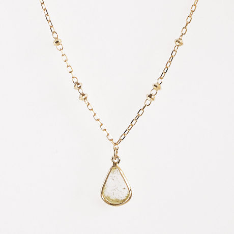 K18 Slice Diamond Necklace