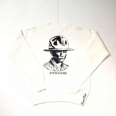 HUMAN MADE PHARRELL sweat BEAMS ホワイト M