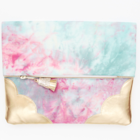 Tie Dye Clutch Bag No,38