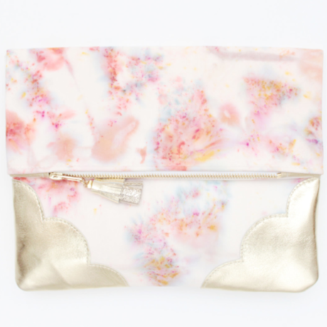 Tie Dye Clutch Bag No,35