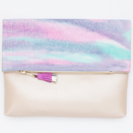 Tie Dye Clutch Bag No,31
