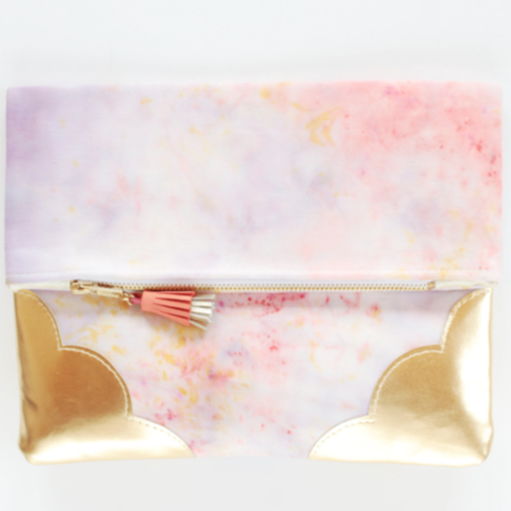 Tie Dye Clutch Bag No,48