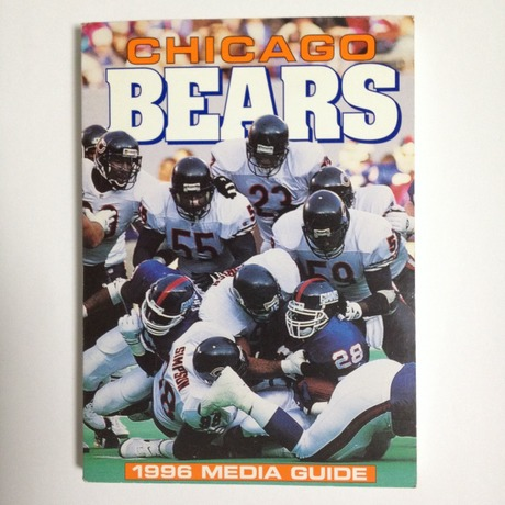 CHICAGO BEARS 1996 MEDIA GUIDE