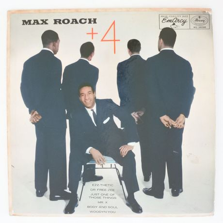 Max Roach ‎– +4(EmArcy ‎– MG 36098)mono
