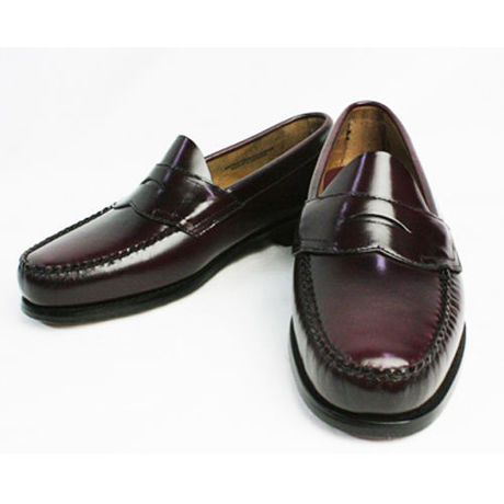 "G.H.Bass & Co. / ""WEEJUNS"" LOGAN PENNY LOAFER (BURGANDY)"