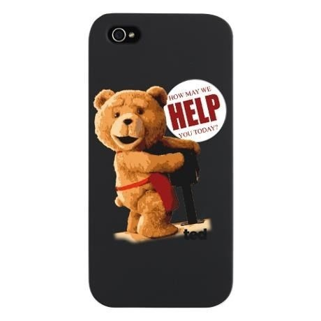 Ted iphone5,5s case,cover 【HELP】テッドiPhoneケース、カバー