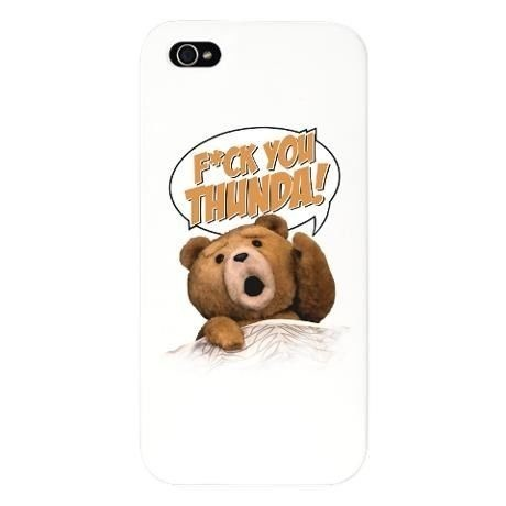 Ted iphone5,5s case,cover【F*CK YOU THUNDA!】テッドiPhoneケース、カバー