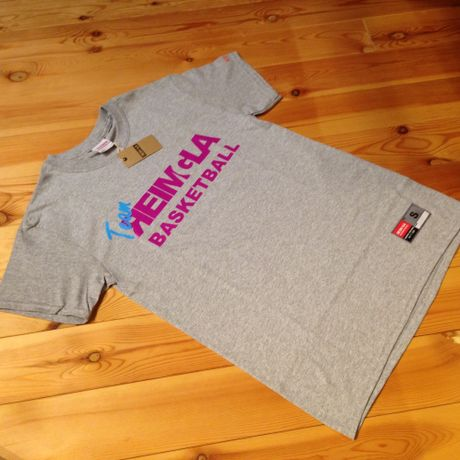 Team-REIMGLA T-shirts Gray×Purple