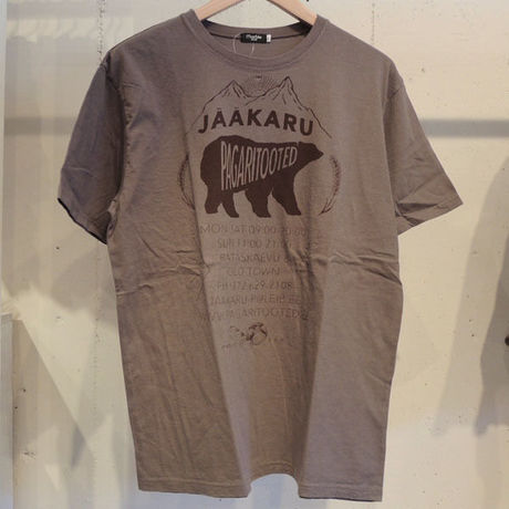 marbleSUD(マーブルシュッド)BAKERY S/S TEE M.GRAY MEN'S L 016M003010