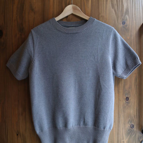 HARD COTTON KNIT T-SHIRT