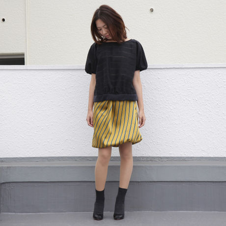 shadow border blouse