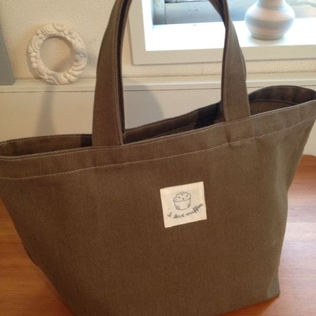 tote bag (I love muffins)