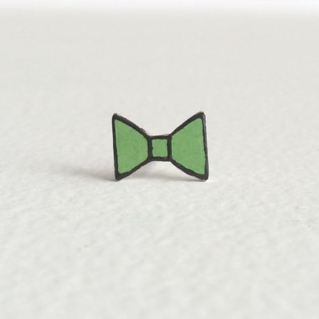 ribbon pierce green (single)