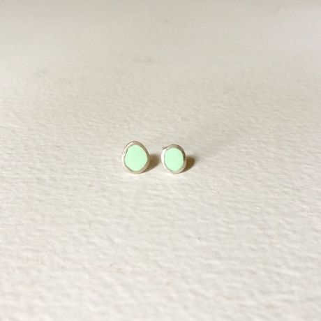 mizutamari  pierce mint(pair)