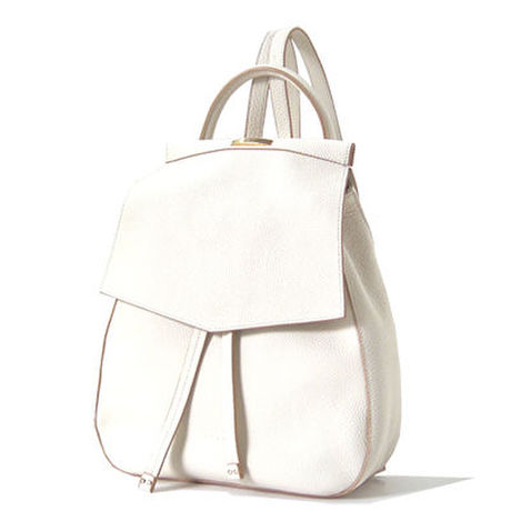 Amelia Mini Backpack white RIL CREED リルクリード