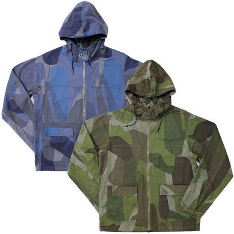 """Nigel Cabourn(ナイジェルケーボン)""""REVERSIBLE JACKET (UK&US CAMO)"""""""