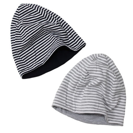 """Engineered Garments(エンジニアードガーメンツ)""""REVERSIBLE BEANIE CAP - STRIPE FRENCH TERRY"""""""