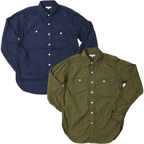 """Engineered Garments(エンジニアードガーメンツ)""""WORK SHIRT - PIMA POPLIN"""""""