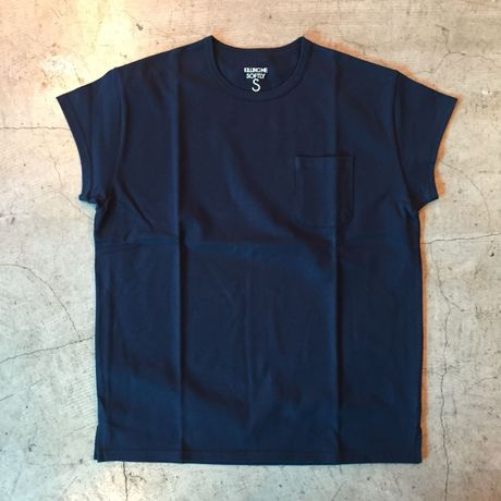 [BEENUTS] FRENCH SLEEVE TEE (NAVY)
