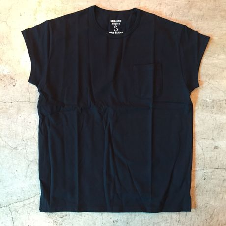 [BEENUTS] FRENCH SLEEVE TEE (BLACK)