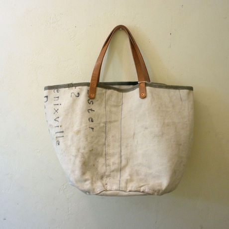 #0116  1940's U.S Navy Sea Bag reworked bag