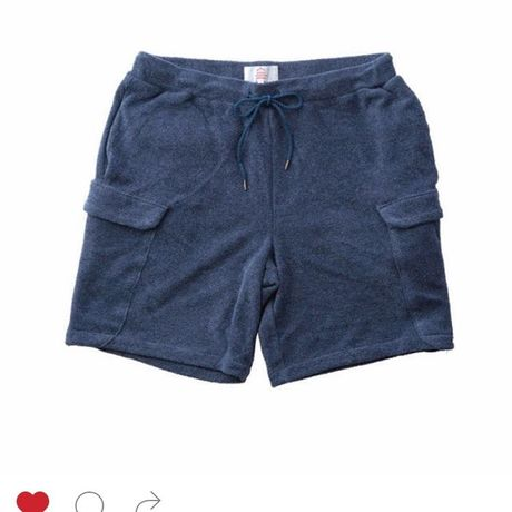 BLURHMS  Heather Pile Shorts