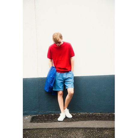 BLURHMS  Short Sleeve Knit メンズ