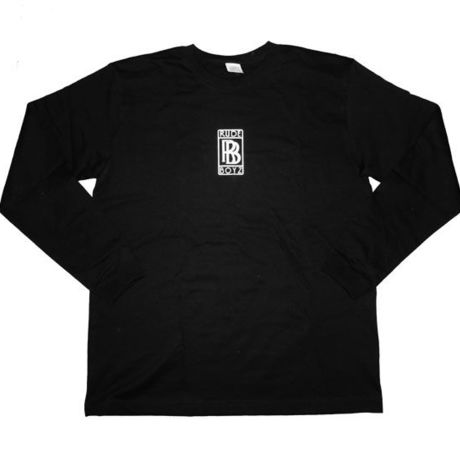 """""""RB""""LOGO L/S T-SHIRTS IN BLACK"""