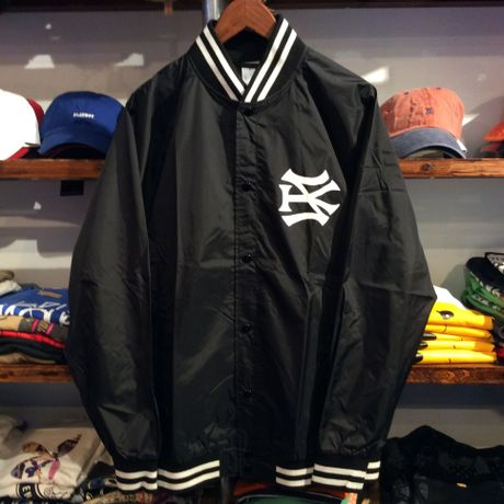 """【ラス1】SH*T KICKER """"SK51 LOGO"""" nylon stadium jacket (Black)"""