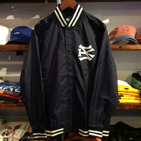 """【ラス1】SH*T KICKER """"SK51 LOGO"""" nylon stadium jacket (Navy)"""