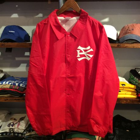 """【残り僅か】SH*T KICKER """"SK51 LOGO"""" coach  jacket ( Red)"""