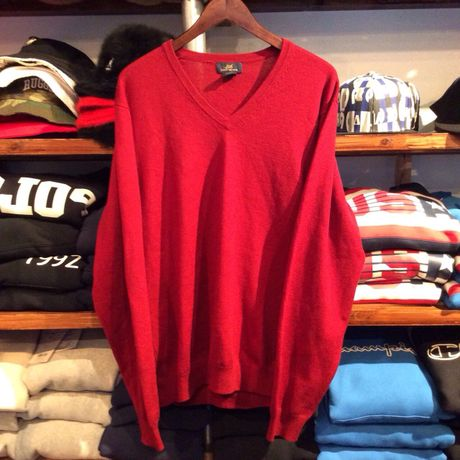 BROOKS BROTHERS 346 V-neck sweater (L)