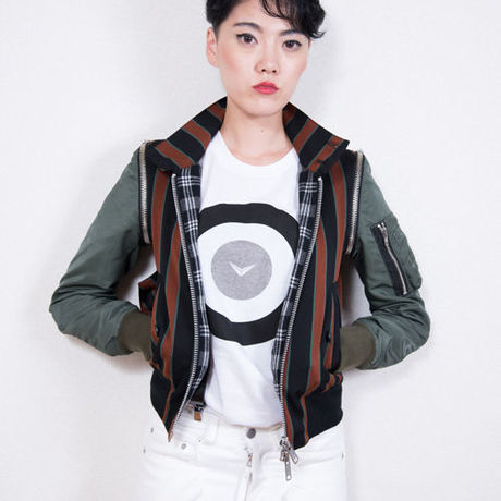 Shinyayamaguchi(シンヤヤマグチ) Harrington MA-1 Jacket   KHAKI