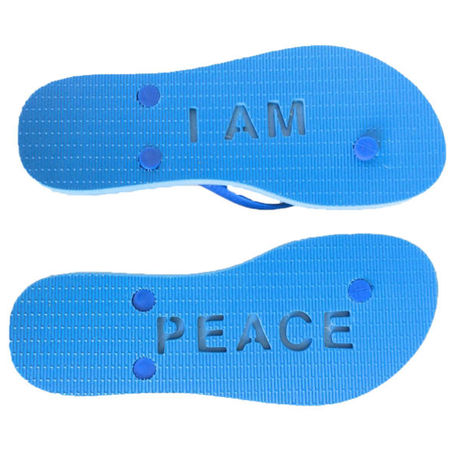 moeloco (モエロコ) beach Sandal I AM PEACE
