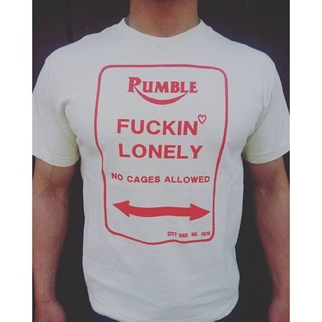 FUCKIN'  LONELY S/S T-shirts.