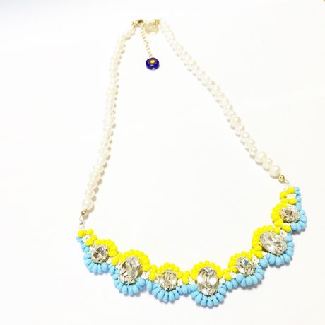 SWAROVSKI Mix color ネックレス  LN150102-Lemon