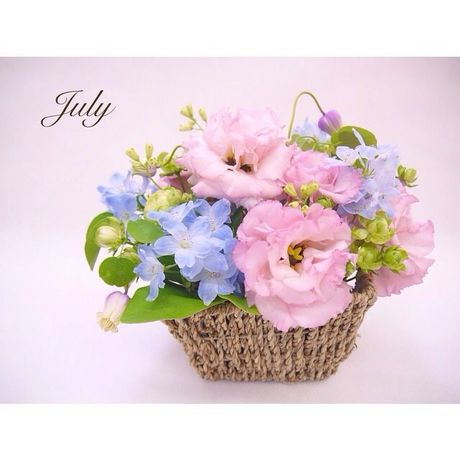 7月のMonthly flower gift♡
