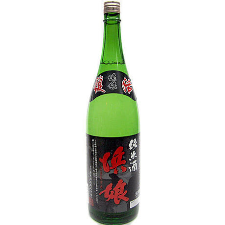 Hamamusume brand, brewed by Akabu from Iwate Japanese SAKE, Junmai-shu dry strong type, 1800ml, 16% Alcohol.