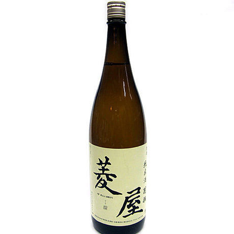 Hishiya brand, brewed by Hishiya  from Iwate Japanese SAKE, Junmai-shu dry strong type, 1800ml, 16% Alcohol.